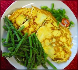 Asparagus omelet MGD©