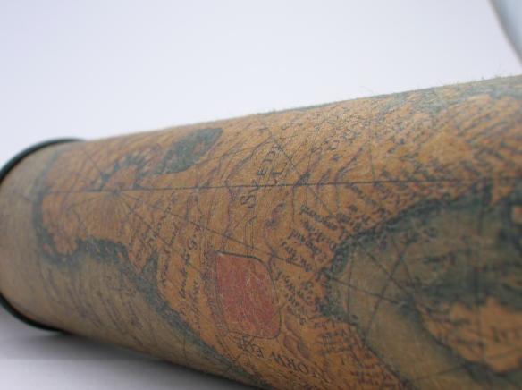 telescope map